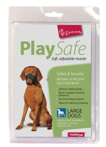 Play Safe - Soft Muzzles