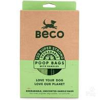 Beco Poop Bags with Handles - Degradable Unscented