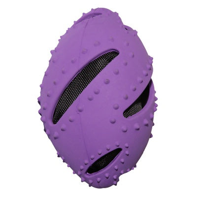 Active Rubber Crunchy Rugby Ball - Mudpuppy