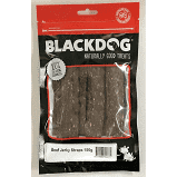 Black Dog Beef Jerky Straps - 150gm - Mudpuppy