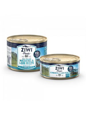 Ziwi Peak Cat Cans - Mackerel & Lamb