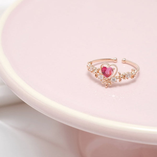 Angel's Heart Hair Band Ring (2 Colors)