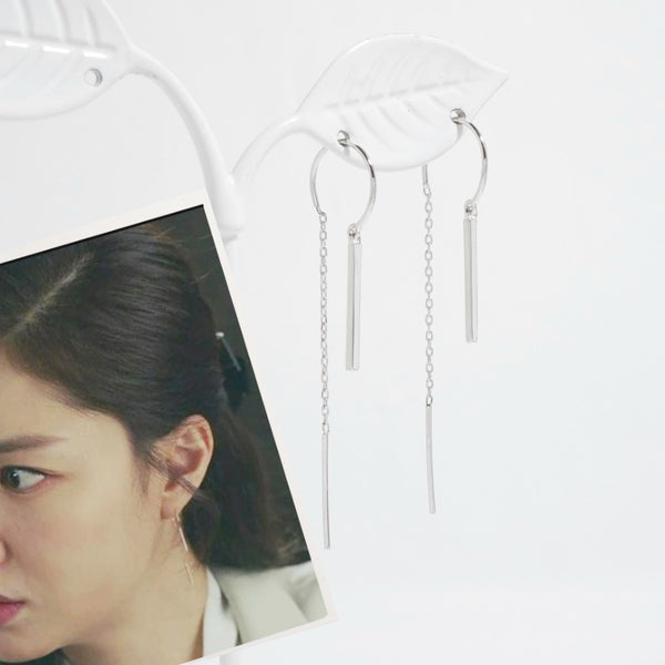 Into The Unknown Earrings_925Silver [CLOY Collection]