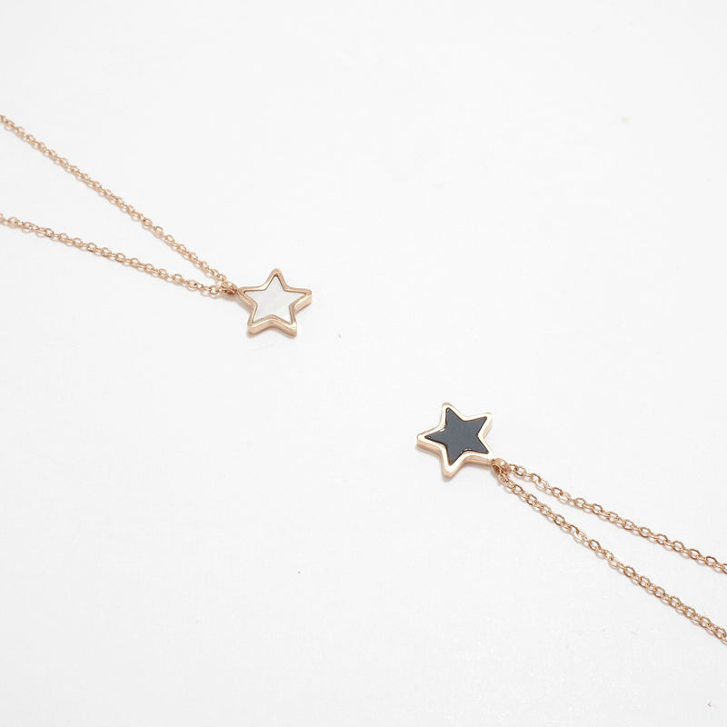One Star Stainless Steel Necklace