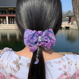 Blanc De Moon Chiffon Hair-Pin