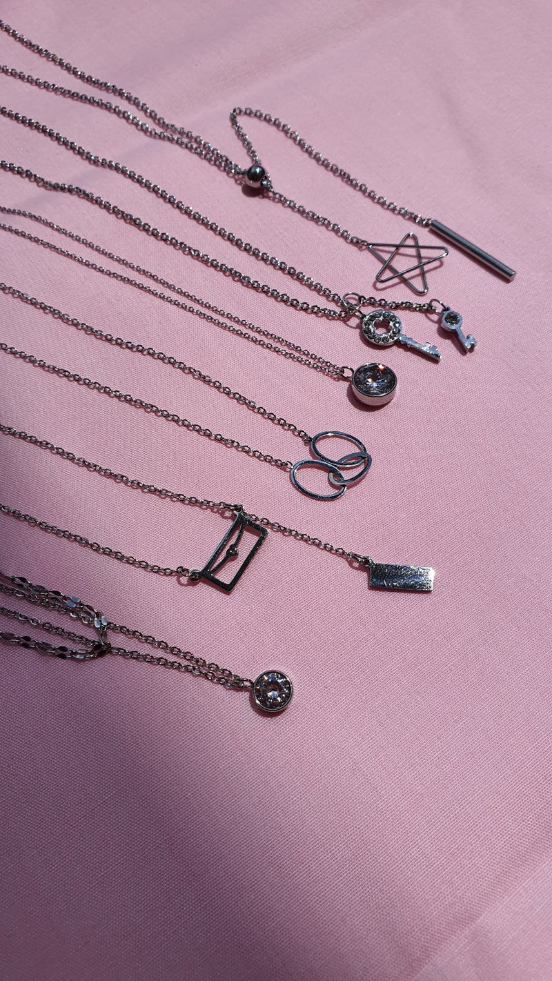 Limited Stainless Steel Necklace For Sales