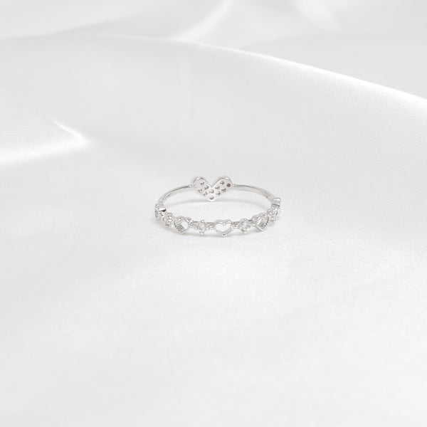 Heart Two Way Ring