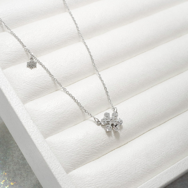 Frozen Stainless Steel Necklace