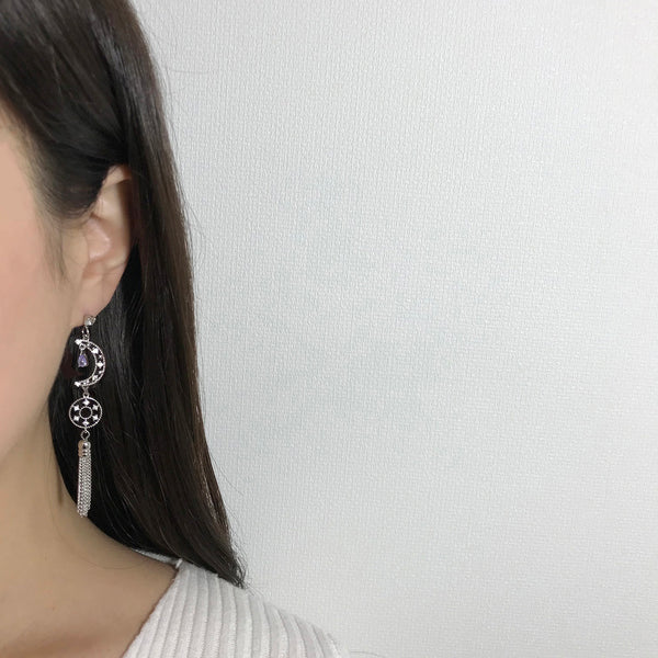Magic Night Tassel Earrings