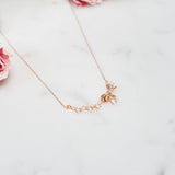 Ann Lovely Ribbon Necklace