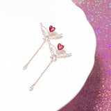 The Heart Arrow Earrings [Two-two]
