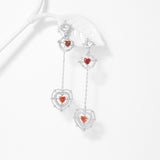 Palpitating Heart Earrings [Two-two]