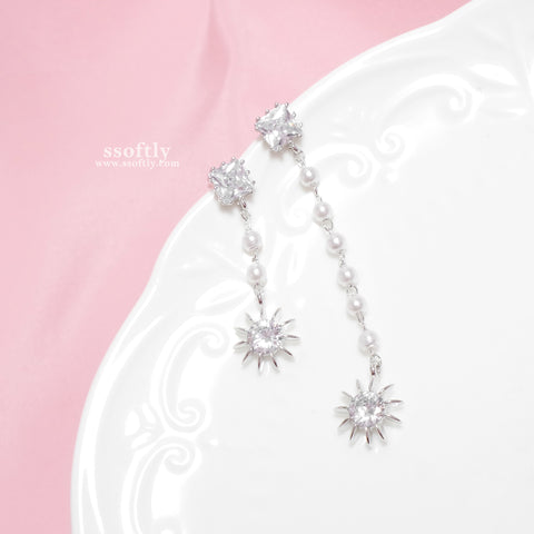 Agness Pearl Earrings [Two Two]
