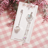 Beautiful Time Earrings [Spring Fragrance]