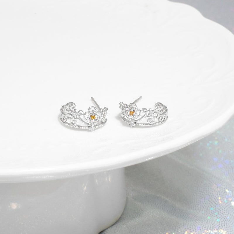 Belle's Citrine Tiara Earrings [Two-two]