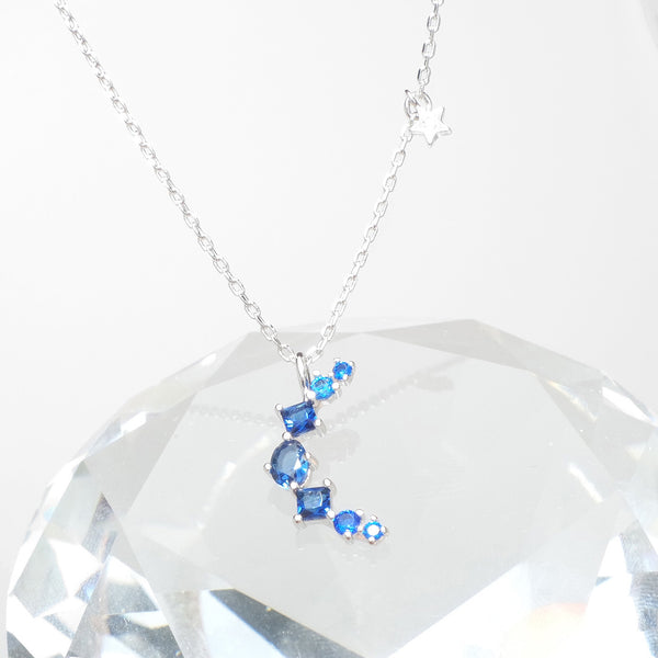 Blue Eclipse Necklace [Two-two]