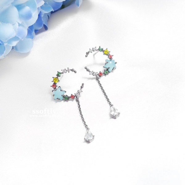 Candy Moon Earrings