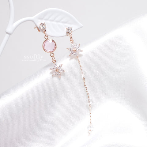 Flower In Dream Earrings [Two Two]