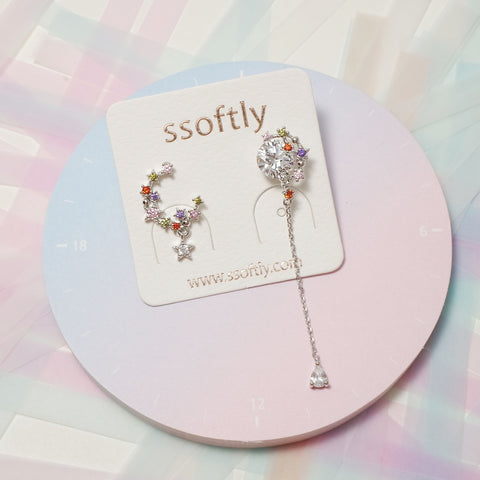 Dancing In The Moonlight Earrings [Fly me to the moon]