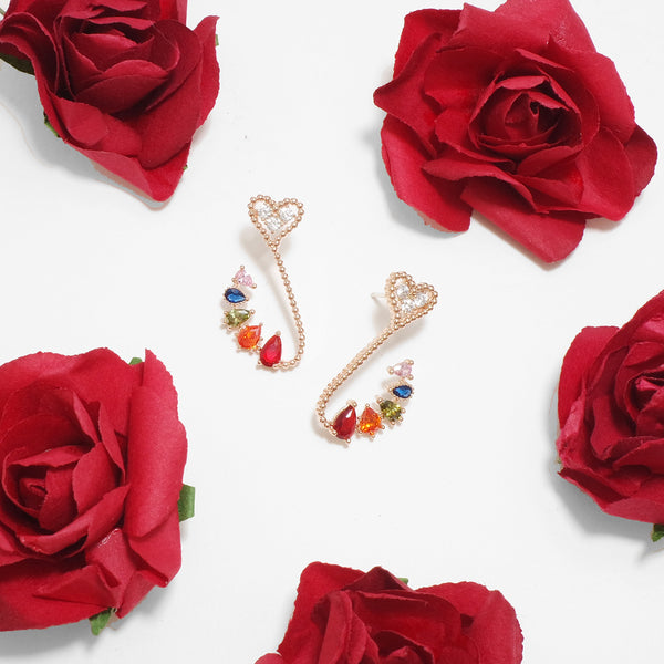 Dreaming Of Rainbow Swan Earrings [Two-two]