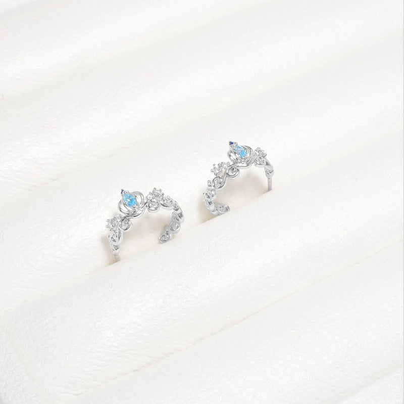 Cinderella Pumpkin Carriage Earrings [Two-two]