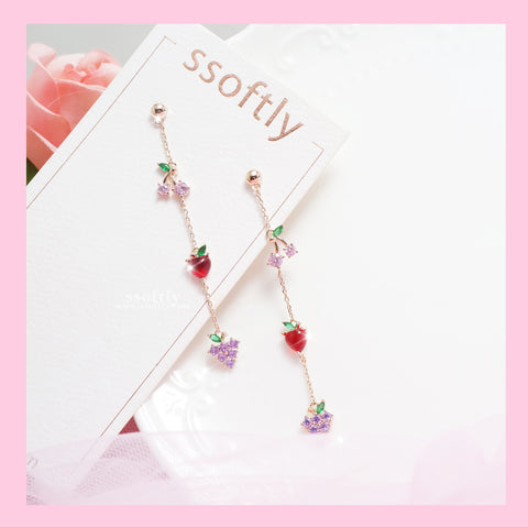 Fruit Sensation Earrings [Two Two]