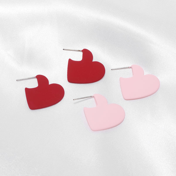 Heart To Heart Earrings [Del Luna]