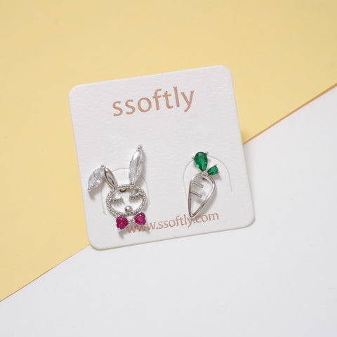 Hello My Bunny Earrings