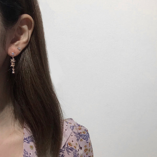 Tiny Cosmos Dress Earrings