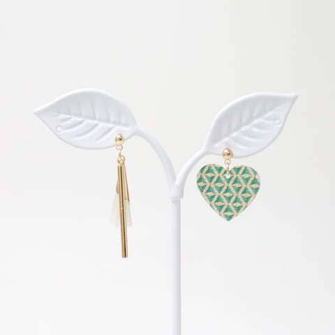 Belita Heart Earrings
