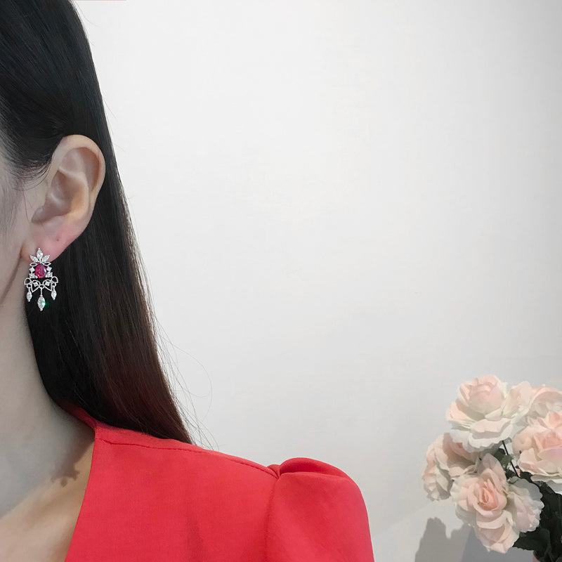 The Palace Of Versailles Earrings [Two-two]