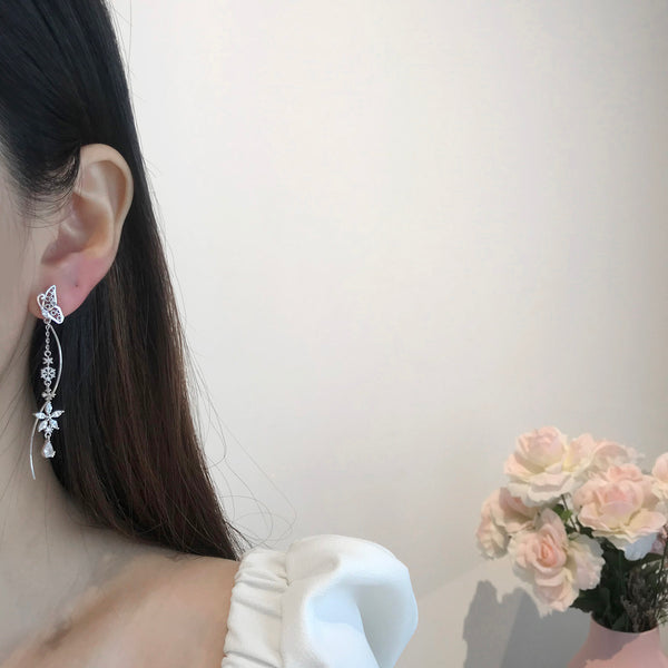 Madam butterfly Earrings [Two-two]