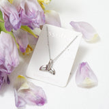 Dolphin Make A Wish Necklace (Stainless)