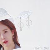The Key Of Love Earrings_925silver [CLOY Collection]