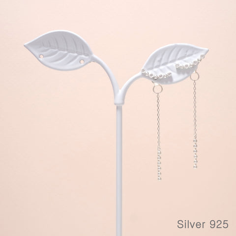 Crescent Dangled Earrings [Secretary Kim]