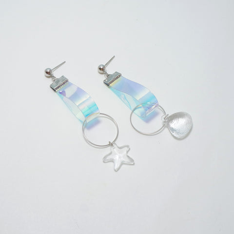 Shine Wave Earrings [Mermaid Collection]