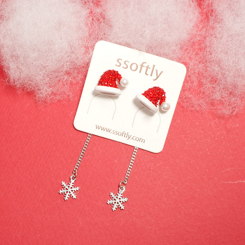 Santa Is Coming Earrings