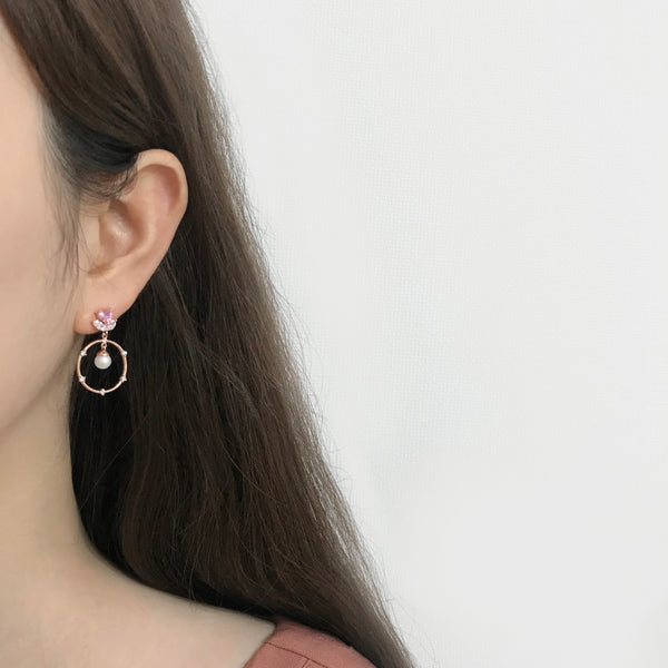 Tulip In The Love Earrings [Two-two]