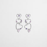Love Love Heart Earrings [Two-Two]
