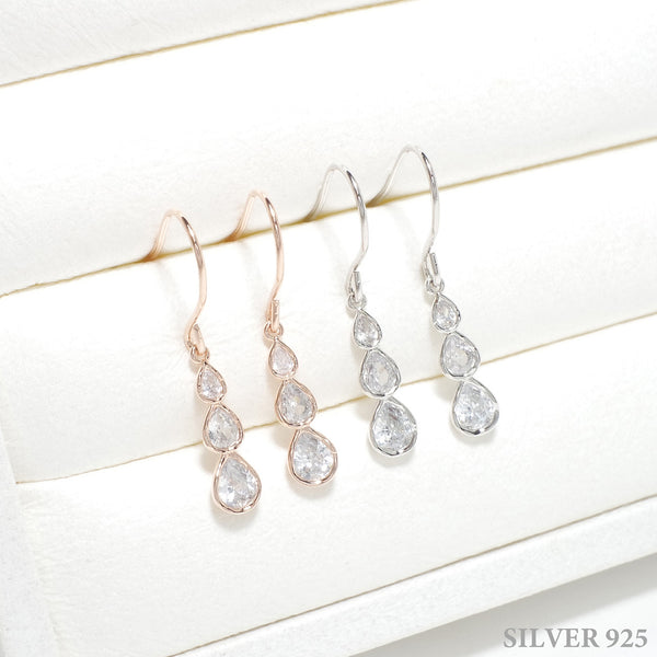 Luicia Water Drop Earrings [The World Of Marriage]