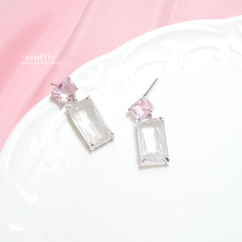 Peach Ice Earrings [Two Two]