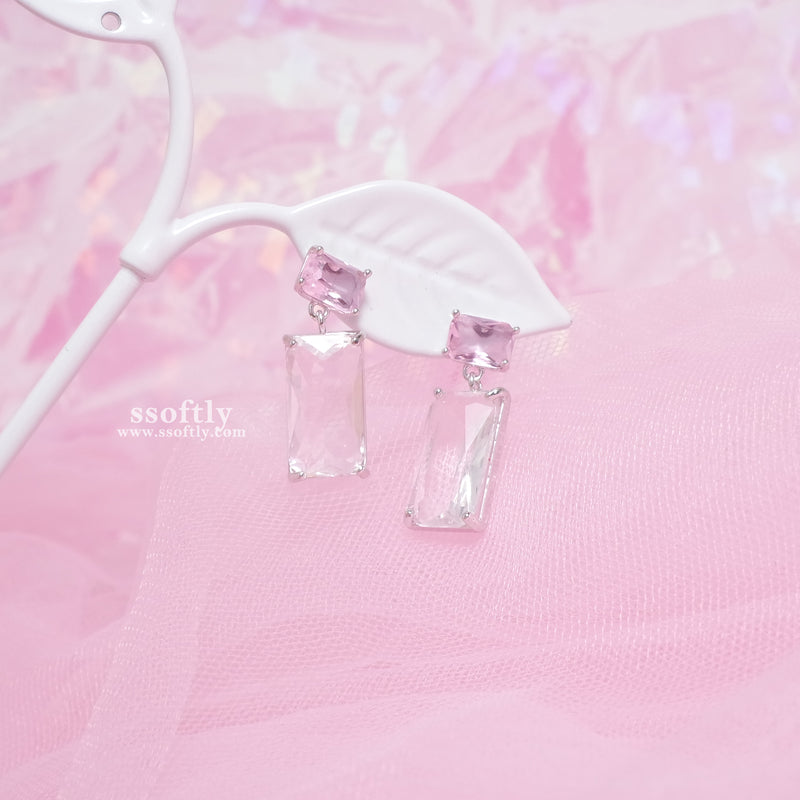Peach Ice Earrings