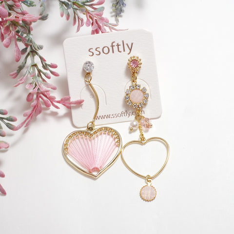 Peach Peach Earrings [Spring Fragrance]