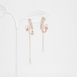 Pink Muhly Earrings