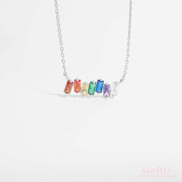 Rainbow Wave Necklace [Rainbow Collection]