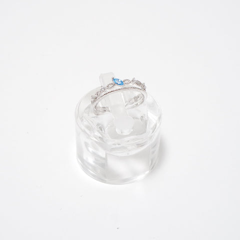 Blue Water Drop Ring [Winter Sonata]