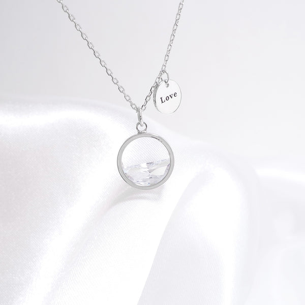 The Legend Of The Sea In Jeju Simple Necklace [My Jeju]