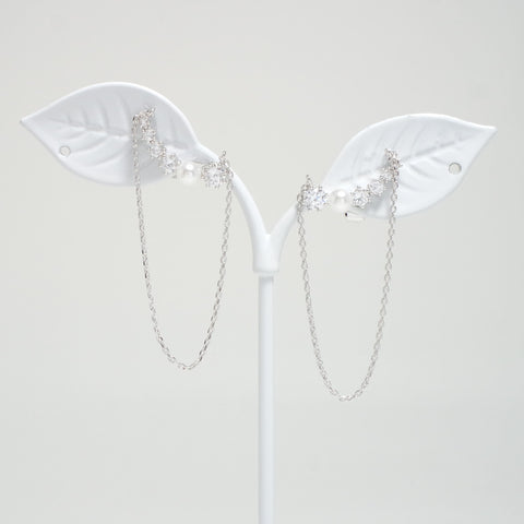 Fly To You Wing Drop Earrings [The Beauty Inside]