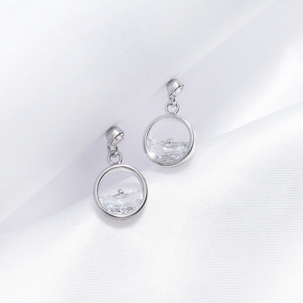 The Legend Of The Sea In Jeju Earrings [My Jeju]