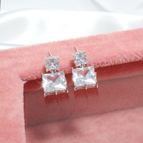 Renoir Square Earrings [Del Luna]